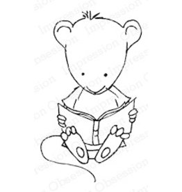 Impression Obsession Book Mouse - Cling Stamp
