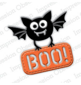 Impression Obsession Bat with Sign - Die