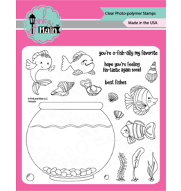 Pink and Main Fintastic - Stamp set - Pink and Main