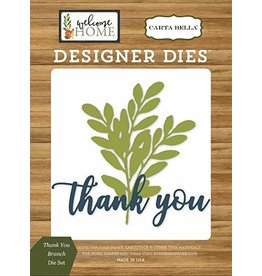 Carta Bella Paper Company, LLC Thank You Branch - Die (40%)