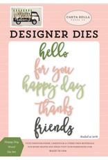 Carta Bella Paper Company, LLC Happy Day Words - Die