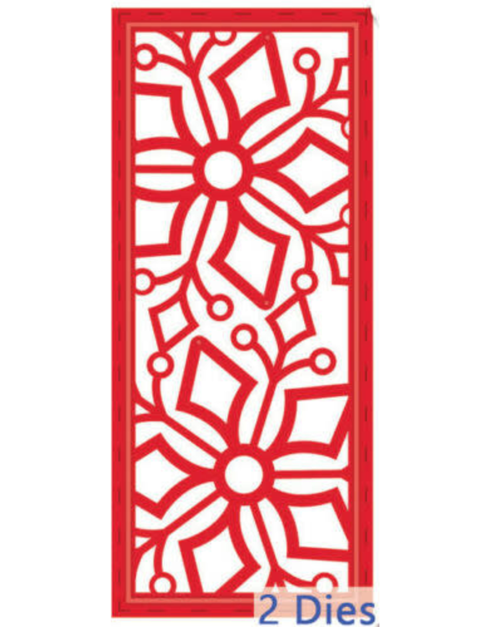 Creative Expressions Stitched Snowflake Striplet - Festive Collection Die