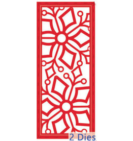 Creative Expressions Festive Collection - Stitched Snowflake Striplet