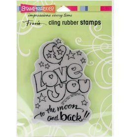 Stampendous Great Big Love Cling Stamp