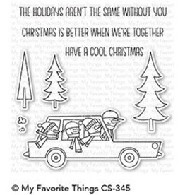 My Favorite Things Cool Christmas Clear Stamps