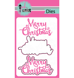 Pink and Main Merry Christmas Dies