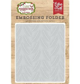 Echo Park Pine Boughs - Embossing Folder