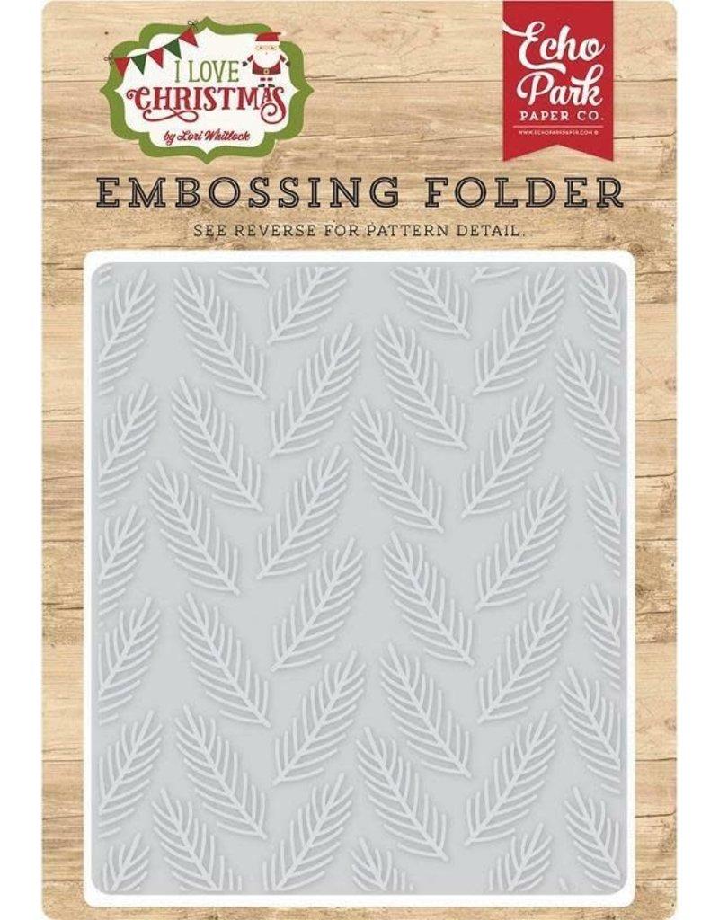Echo Park Pine Boughs - Embossing Folder