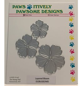 Paws-Itively Pawsome Designs Layered Bloom