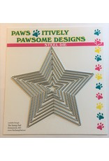 Paws-Itively Pawsome Designs Stitched Star Set - Die
