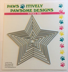 Paws-Itively Pawsome Designs Stitched Star Set