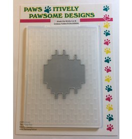 Paws-Itively Pawsome Designs Break Out Bricks Cut & Emboss Folder