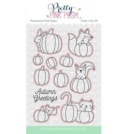 Pretty Pink Posh Pumpkin Patch Critters - Coordinating Dies