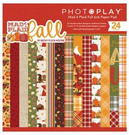 Photo Play Mad 4 Plaid Fall 6x6 Paper Pad