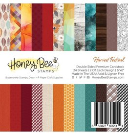 Honey Bee Stamps Harvest Festival 6x6 Paper Pad