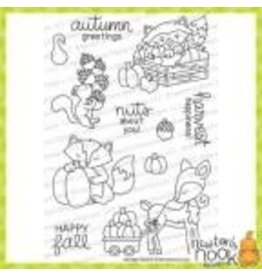 Newton's Nook Harvest Tails - Clear Stamp Set