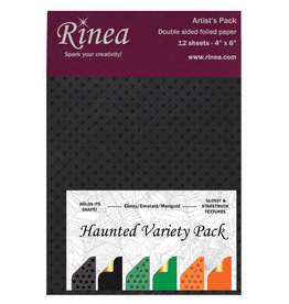 Rinea Haunted Foiled Paper Variety Pack