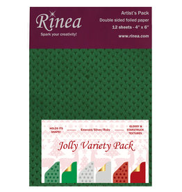 Rinea Jolly Foiled Paper Variety Pack