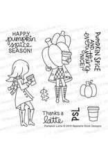 Newton's Nook Pumpkin Latte - Clear Stamp Set
