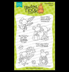 Newton's Nook Autumn Mice - Stamp Set