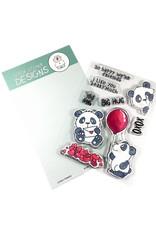 Gerda Steiner Designs Lovely Pandas - Clear Stamp Set