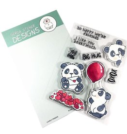 Gerda Steiner Designs Lovely Pandas - Clear Stamp Set