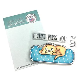 Gerda Steiner Designs I Just Miss You Puppy - Clear Stamps