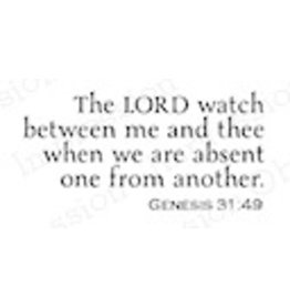 Impression Obsession The Lord Watch - Cling Stamp
