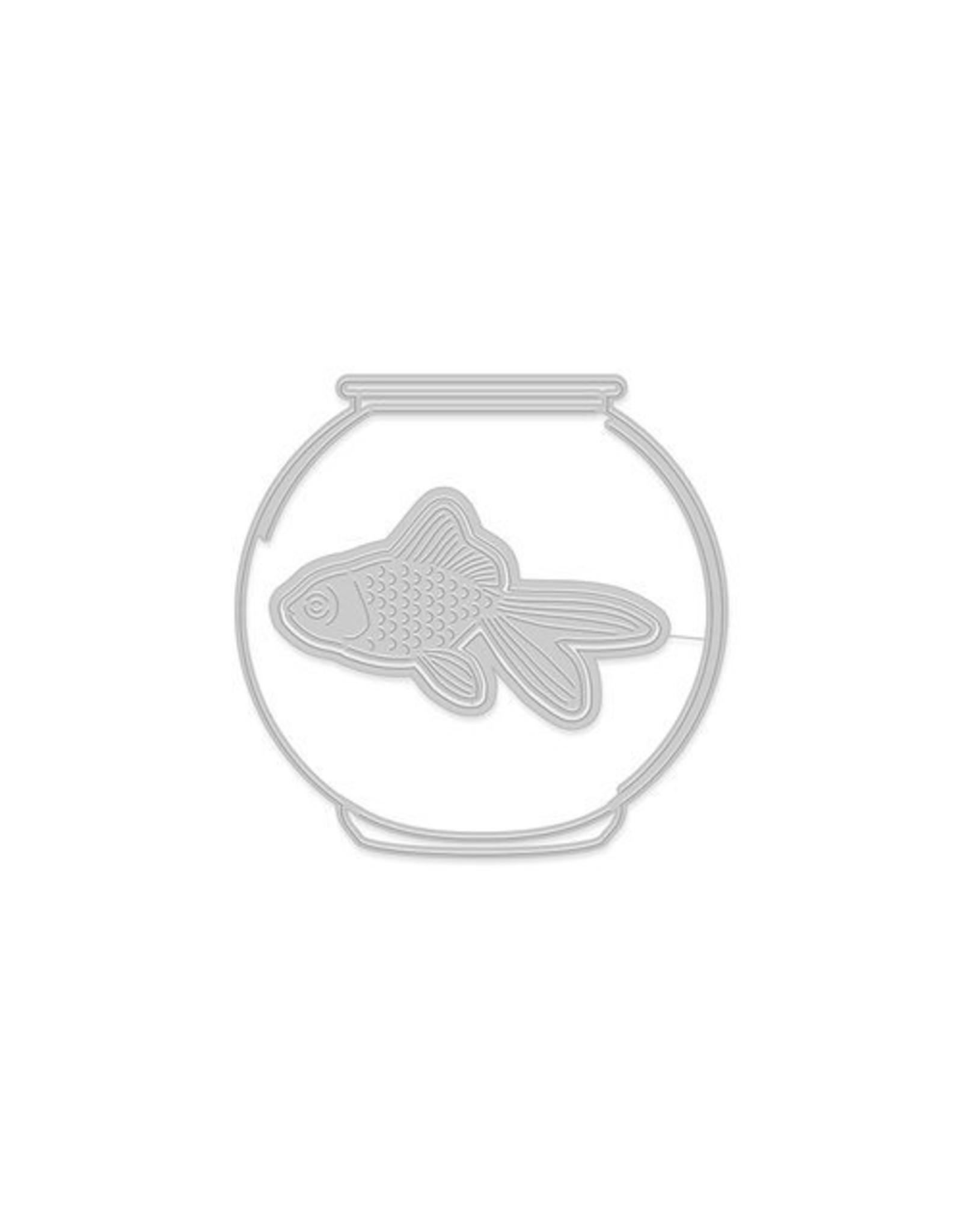 Hero Arts Goldfish In Bowl - Die