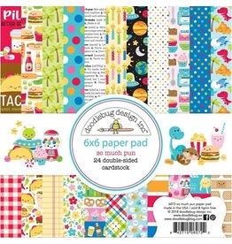 Doodlebug Design Inc. So Much Pun 6x6 Paper Pad