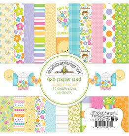 Doodlebug Design Inc. Simply Spring - 6x6 Paper Pad