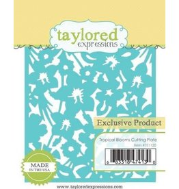 Taylored Expressions Tropical Blooms - Cutting Plate