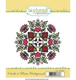 Hearts in Bloom - Background Cling Stamp