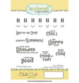 Chill Out - Cling Stamps