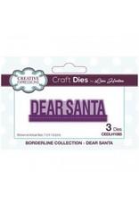 Creative Expressions Dear Santa - CE Borderline Collection Die