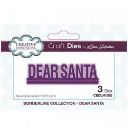 Creative Expressions Dear Santa - CE Borderline Collection Die