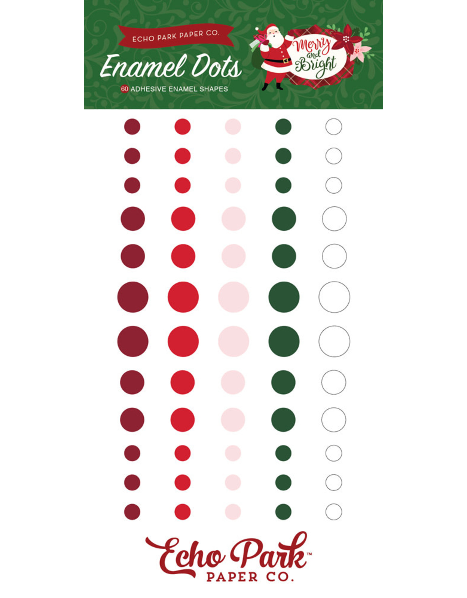 Echo Park Merry & Bright - Enamel Dots (40%)