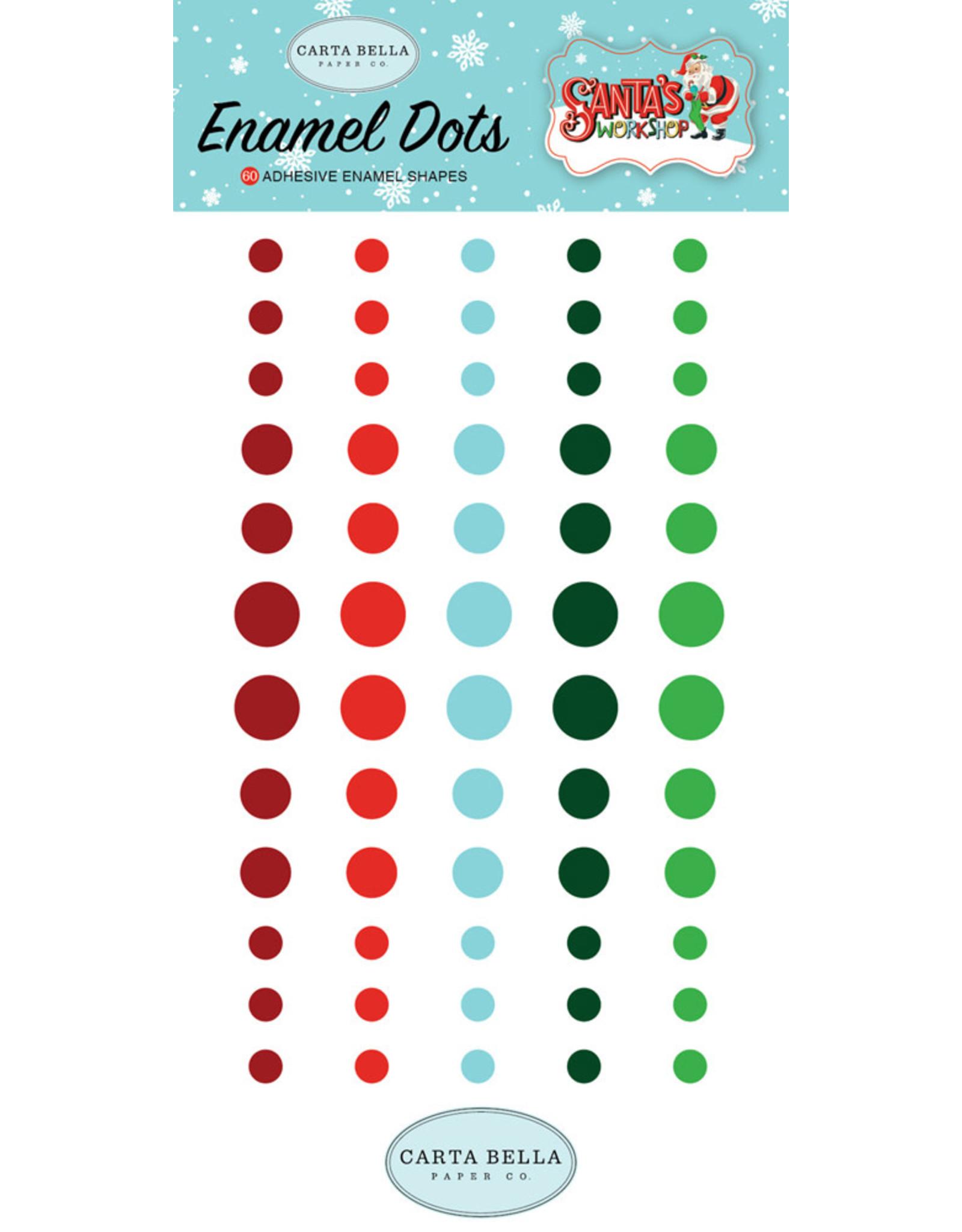 Echo Park Santa's Workshop - Enamel Dots (40%)