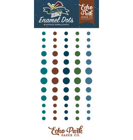 Echo Park Adventure Awaits - Enamel Dots (40%)
