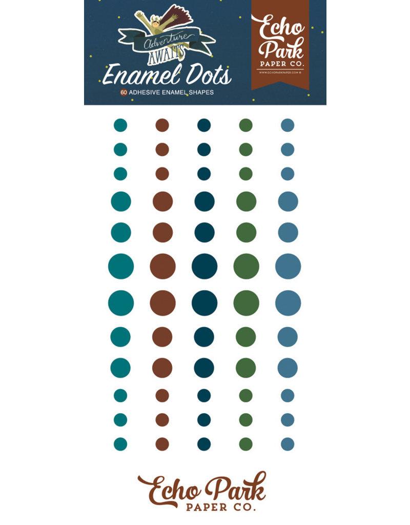 Echo Park Adventure Awaits - Enamel Dots