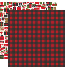 Echo Park My Favorite Christmas - Winter Flannel 12x12