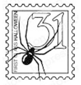 Impression Obsession Halloween Stamp - Cling