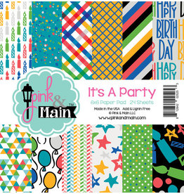 Pink and Main It's A Party 6x6 Paper Pad