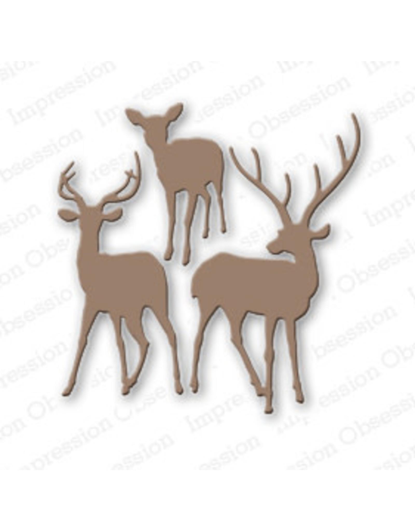 Impression Obsession Deer Trio (IO) - Die