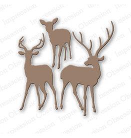 Impression Obsession Deer Trio - Die