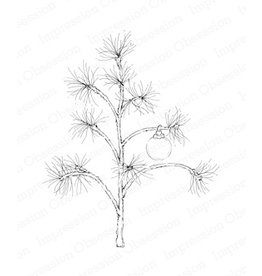 Impression Obsession Delicate Pine Tree - Cling