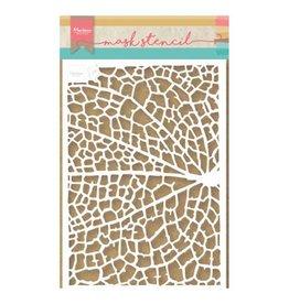 Marianne Design Tiny's Leaf Grain -Stencil
