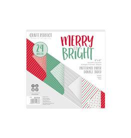 Tonic Studio Craft Perfect-6x6 Paper Pack - Merry & Bright