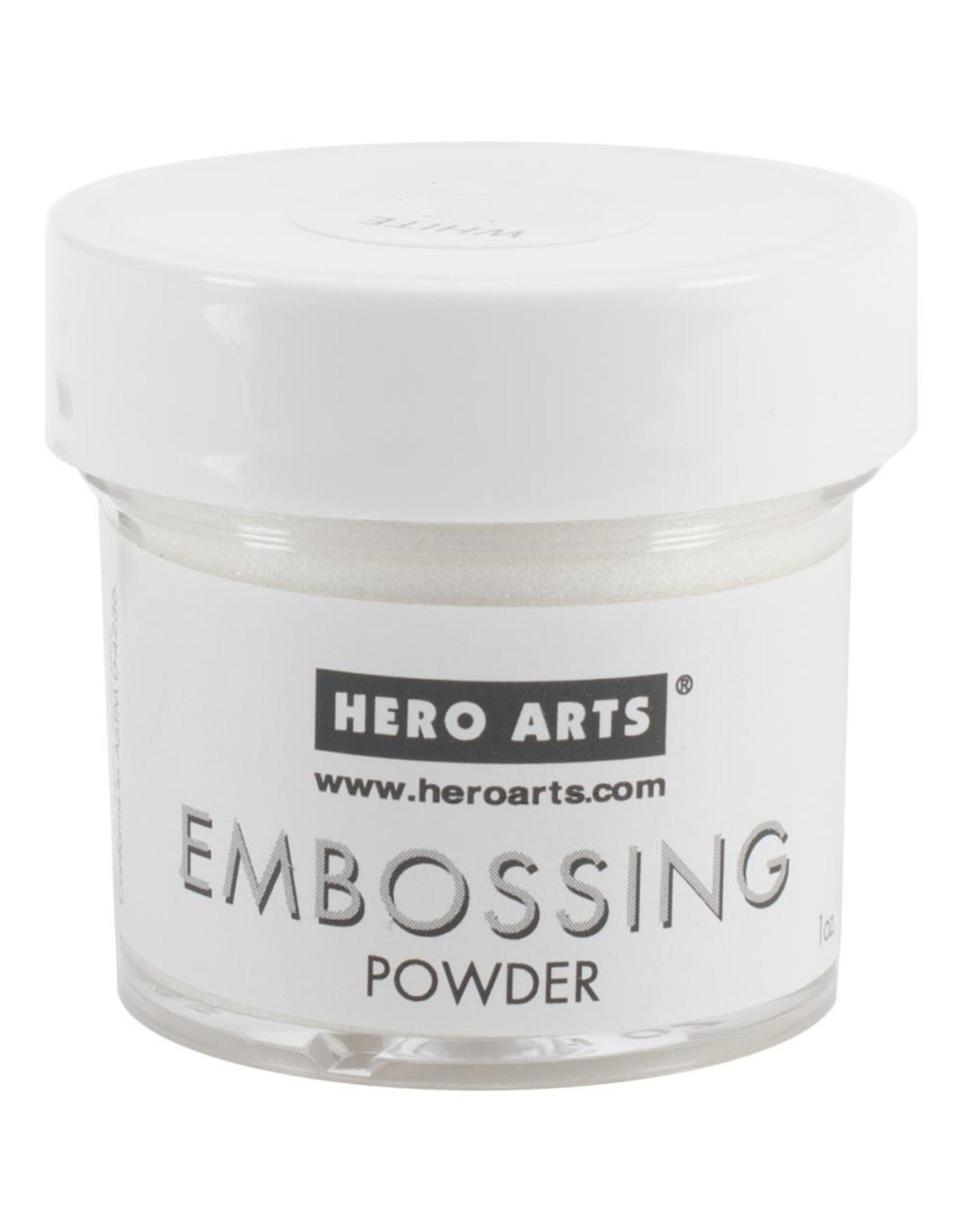 Hero Arts Hero Arts Embossing Powder - White Detail