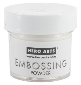 Hero Arts Hero Arts Embossing Powder - White Detail